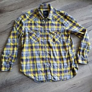 American Eagle Outfitters Plaid Button Up